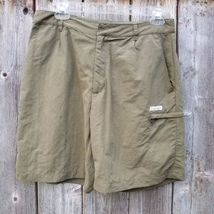 Royal Robbins Nylon Khaki Green Hiking Lightweight